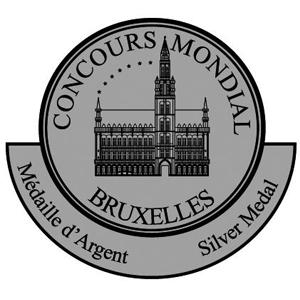 Riconoscimento Medaglia d'argento - Concours-Mondial-de-Bruxelles