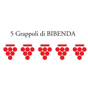 Riconoscimento 5 grappoli BIBENDA